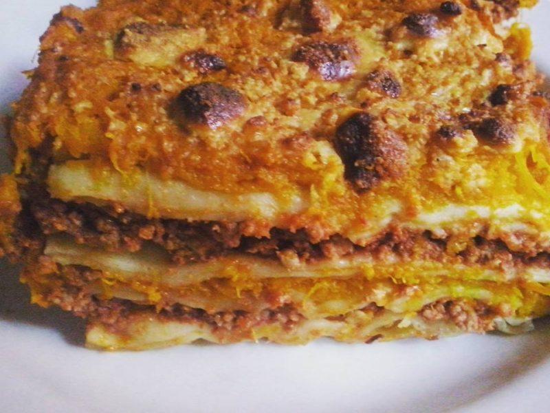 lasagna di zucca